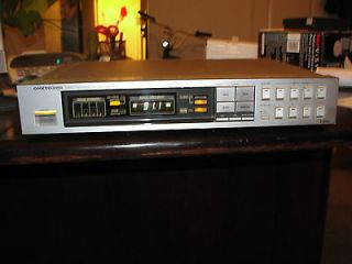 80s ONKYO INTEGRA T4015 QUARTZ SYNTHESIZER TUNER