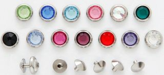 Internally Threaded Skin Diver Tops   13 Colours   4mm or 5mm