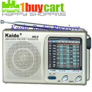 Newly listed New Portable TV FM AM Pocket Radio Receiver DC 3V 300mA