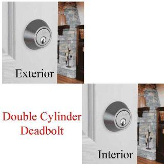 double cylinder deadbolt in Deadbolts