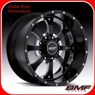 BMF WHEELS 8x6.5 20x9 NOVAKANE DEATH METAL BLACK 03 12 DODGE CUMMINS
