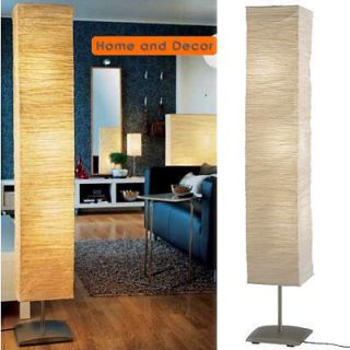 Asian Oriental Rice Paper Floor Lamp/Light Moody Moody Brand New