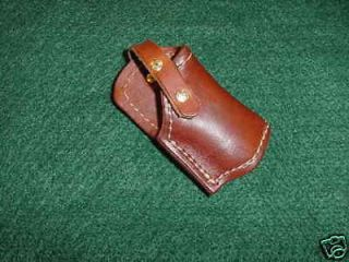 Cobra Derringer, Leather belt Holster ,small frame