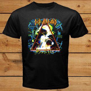DEF LEPPARD HYSTERIA Metal Rock Live Concert Tour Vintage T Shirt Tee