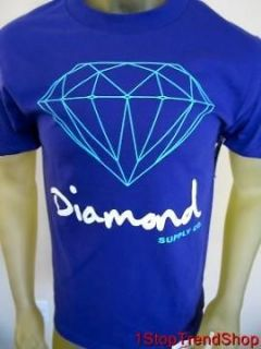 NWT Diamond Supply Co purple mens s/s shirt sizes S/M/L/XL skate $30