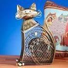 NEW Deco Breeze Small Cat Metal Electric Fan