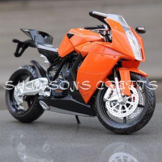 DIE CAST 1/12 KTM RC8 MOTORCYCLE MODEL SPORT BIKE REPLICA