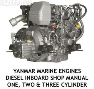 DIESEL ENGINE 1 2 3 SHOP SERVICE REPAIR MANUAL IN BOARD OUTBOARD