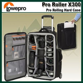 Lowepro Pro Roller x300 DSLR Rolling Digital Camera Case/Backpack F