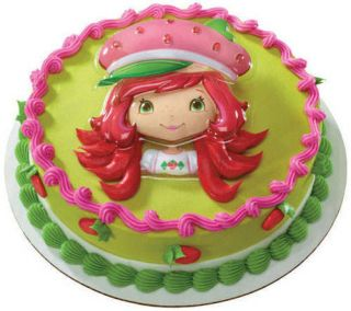 STRAWBERRY SHORTCAKE BERRY LICIOUS CREATIONS CAKE KIT Topper