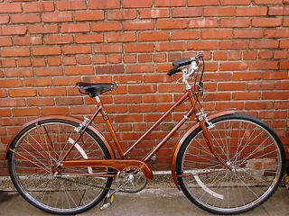 Stunningly Beautiful Copper English Raleigh Sports (1978) Ladies