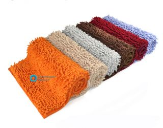 Superfine Fiber Bath Mat Soft Plush Rug Carpet anti slip Absorbent