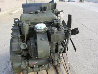 71 DETROIT DIESEL ENGINE MILITARY SURPLUS REMOVED FROM GEN SET 3