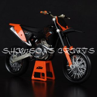 DIE CAST 1/12 KTM 450 SM R 09 MOTORCYCLE MODEL DIRT BIKE REPLICA
