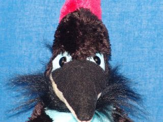 BIG LIFELIKE CRAZY BLUE BLACK DINOSAUR PTERODACTYL BABY PLUSH STUFFED
