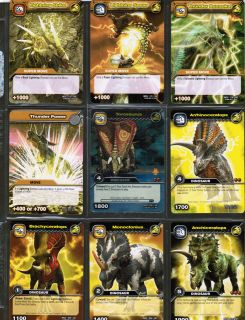 dinosaur king cards in Individual Cards