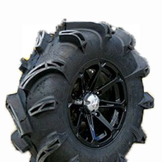 MSA M12 Diesel 14x7 ATV / UTV Wheels 30 Moto Monster Tires Polaris