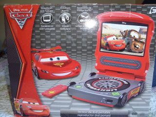 DISNEY CARS 2 PORTABLE DVD PLAYER