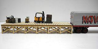 HO Scale ** Laser Cut ** Custom ** Warehouse Dock Kit
