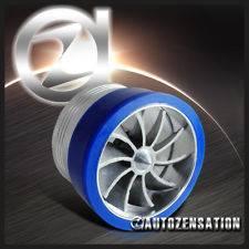 Tornado Intake Fan Supercharger Gas Fuel Saver Turbine Engine Enhancer