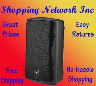 EV Electro Voice ZXA1 90B High Performance Powered Loudspeaker, Black