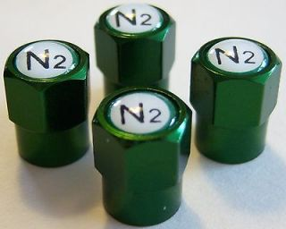 Green (Nitrogen) VALVE STEM CAPS  Dodge   Ram Truck 1500   2500