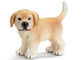 Schleich #16378 Golden Retriever Puppy, Toy Collectible Dog