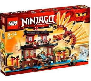 Brand New in Box Lego Ninjago Masters of Spinjitzu Fire Temple Dragon