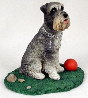 Gray Statue Figurine Home Decor Yard & Garden Dog Products & Dog Gifts