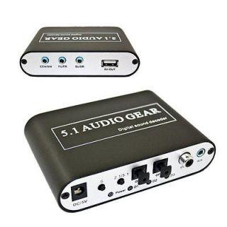 AC3 DTS Audio Gear Digital Sound Decoder SPDIF PS3 Audio Gear