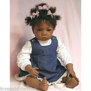 Ashton Drake Jasmine At Age 1 1/2 Doll So Truly Real Baby Doll
