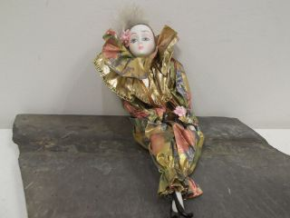 vintage porcelain clown doll in Dolls & Bears