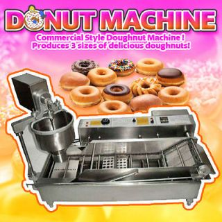 Direct Commercial Donut Making Machine Doughtnut Maker Fryer 220v 240v