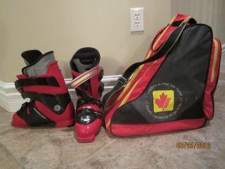 Ending soon ROSSIGNOL Energy S Men Ski Boots & Cdn Ski Team Bag
