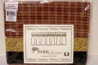park design valances in Curtains, Drapes & Valances