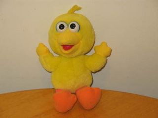 Big Bird 10 Inch Yellow Plush Doll Sesame Street