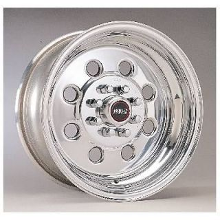 Weld Racing Wheel Draglite Aluminum Polished 15x6 5x5 BC 3.5
