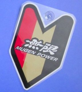 JDM Driver Badge Mugen Power Car Decal not vinyl sticker ##
