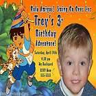 GO DORA THE EXPLORER BOYS GIRLS PHOTO BIRTHDAY PARTY INVITATION C12