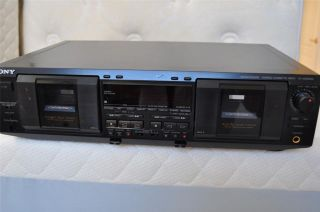 Sony TC WE835S Stero Dual Cassette Deck