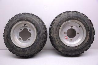 01 Honda TRX400EX 400ex Front Wheels ITP Rims & 20 Razr Tires