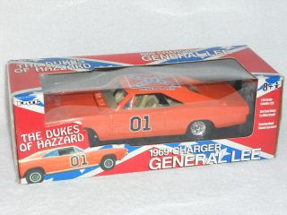25 ERTL The Dukes Of Hazzard 1969 Dodge Charger General Lee HTF