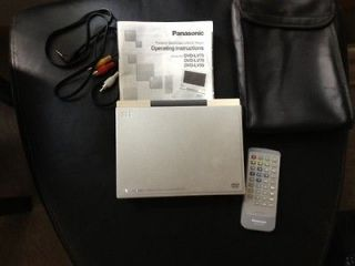 Panasonic DVD LS850 Portable DVD/CD Player (8.5) with bag LQQK