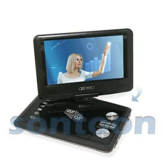 Portable EVD DVD Player TV USB SD Games Radio Swivel LCD Screen