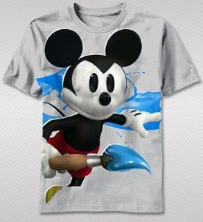 Mickey Mouse Video Game Retro Vintage Artwork EM Adult T shirt top tee