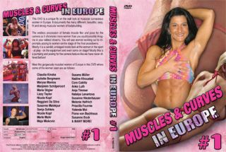 FEMALE BODYBUILDING SHOW DVD   WOMEN POSING & FLEXING
