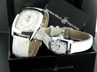 BEVERLY HILLS POLO CLUB MENS AND LADIES DESIGNER WATCH SET