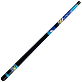USA American Bald Eagle Billiard Pool Cue Stick + Case
