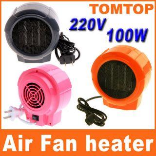 220V/100W Space Heater Electric Warm Air Fan Warmer Winter Heater