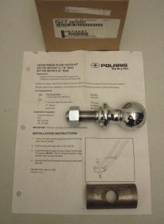 Polaris New OEM ATV Snow Plow Frame Mount Ball Spacer Push Frame